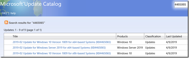 Windows 10 Version 1809 – Intel Microcode Updates | Windows